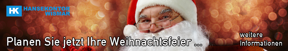 Weihnachtsfeier in der Markt- und Eventhalle Wismar